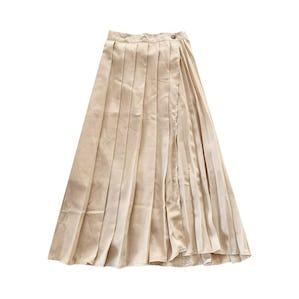 ミルクチョコプリーツスカート