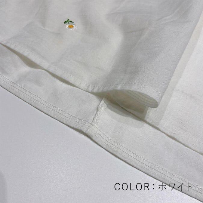 マーガレットの真っ白(하얀)ブラウス