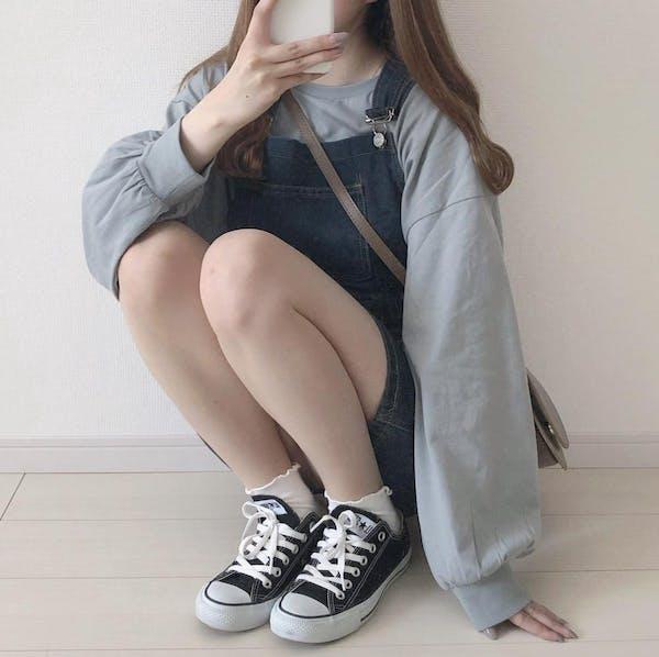 デニムサロペットスカートの画像7枚目