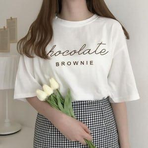 チョコレートブラウニーTシャツ