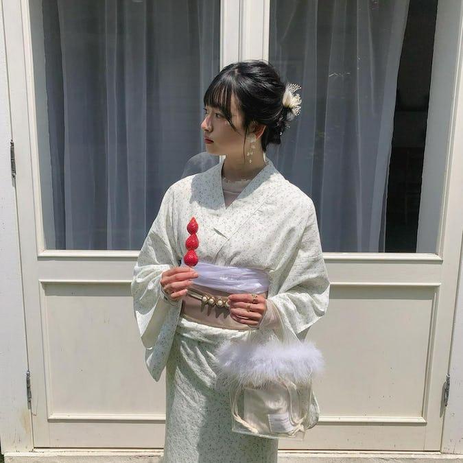 mellow's ミント浴衣セット