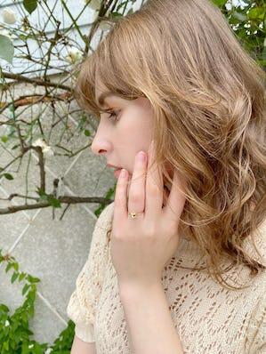 silver 925 petit Heart ring