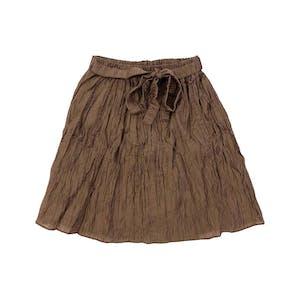 チョコシャーリングスカート