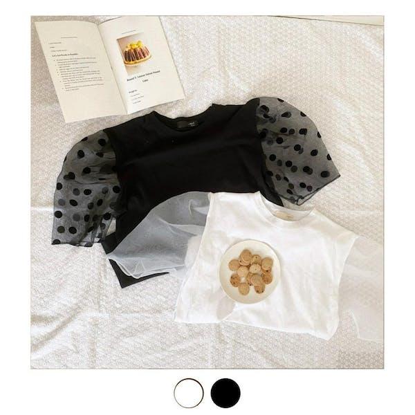 オーガンジーTシャツの画像1枚目