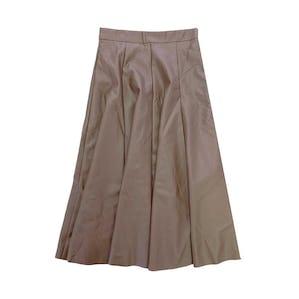 レザースカート