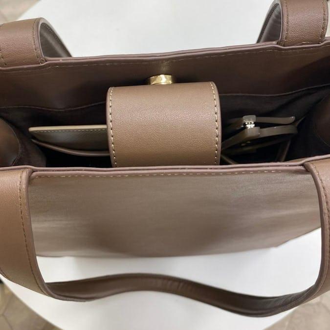 mellow's 合皮トートバッグ