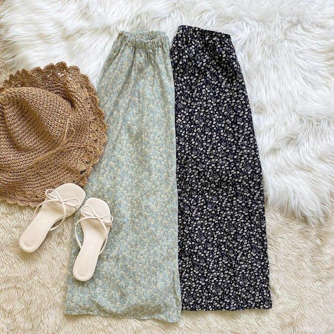 ガーデンフラワースカート-0