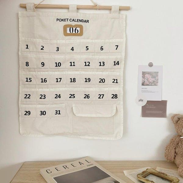 ファブリックカレンダーの画像2枚目