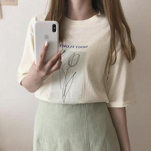 チューリップTシャツ