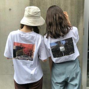 オリジナルフォトTシャツ