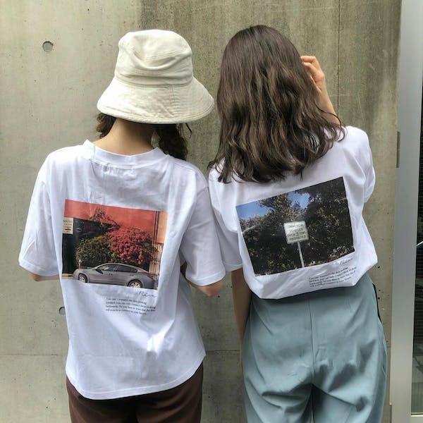 オリジナルフォトTシャツの画像1枚目