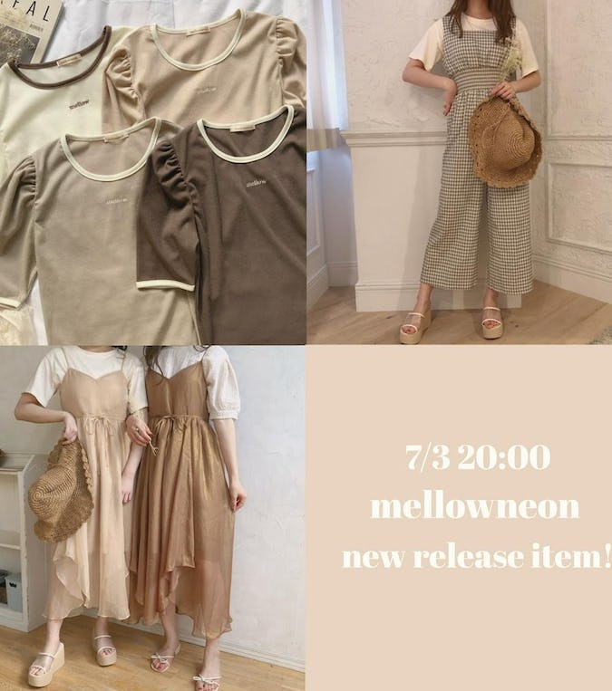 7/3 mellowneon new release