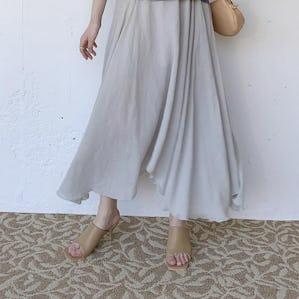 mint hem skirt