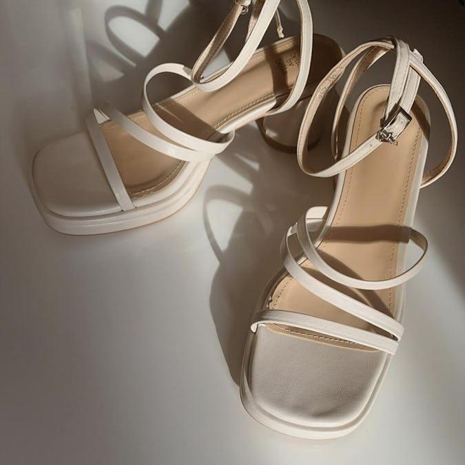 cream ennui sandal