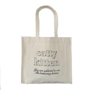 catty kitten square bag