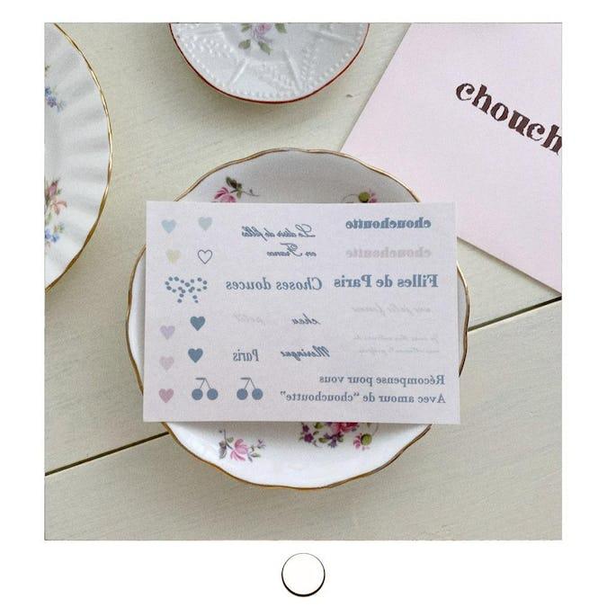 chouchoutteタトゥーシール-0