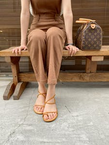lace up summer sandal
