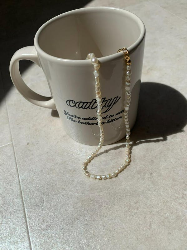 rice pearl necklaceの画像13枚目