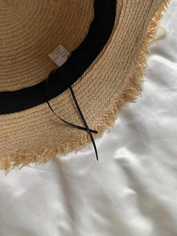 summer panama ribbon hatの画像23枚目