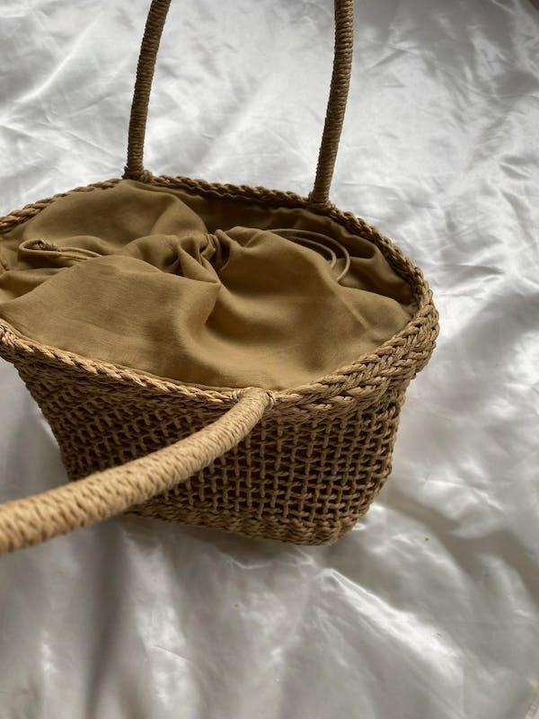 brown basket bagの画像18枚目