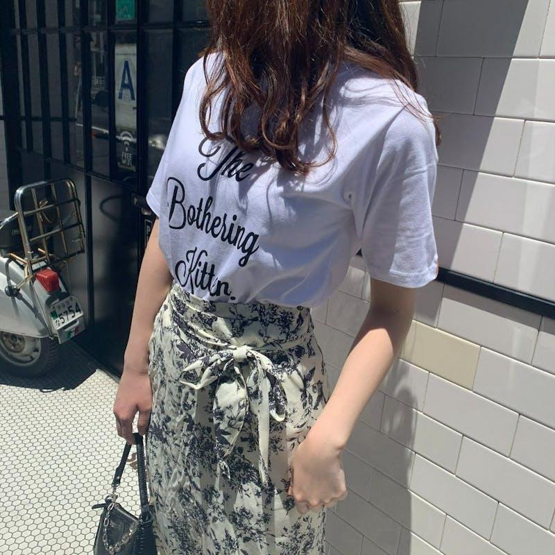 レトロフラワースカートの画像22枚目