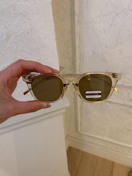 clear sunglassesの画像1枚目