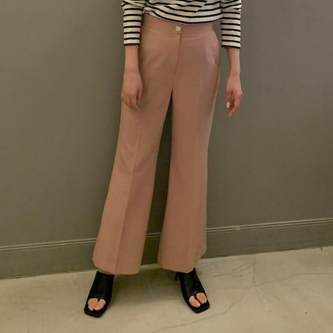 peach pants( pink / navy )-0