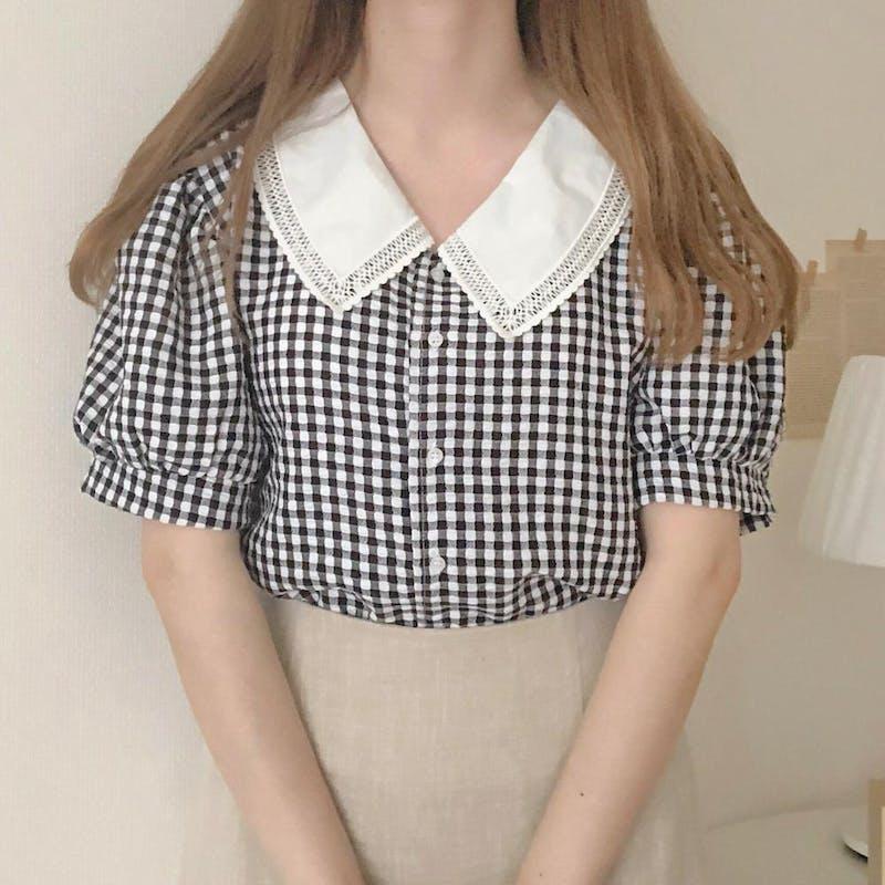 リネン台形スカートの画像9枚目