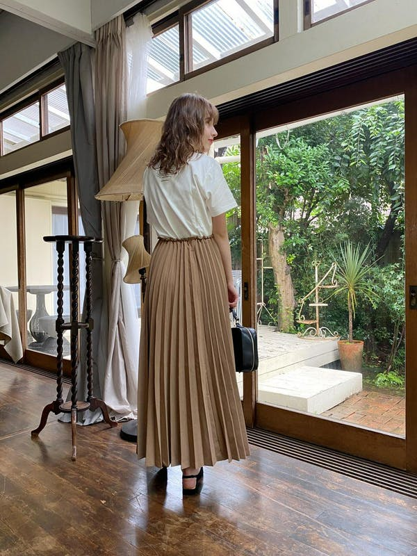 volume pleats skirtの画像37枚目