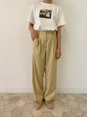 printT ×  classic long pants