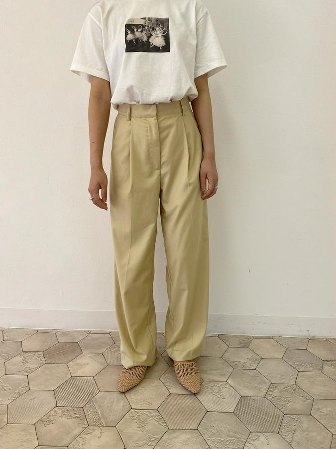 printT ×  classic long pants