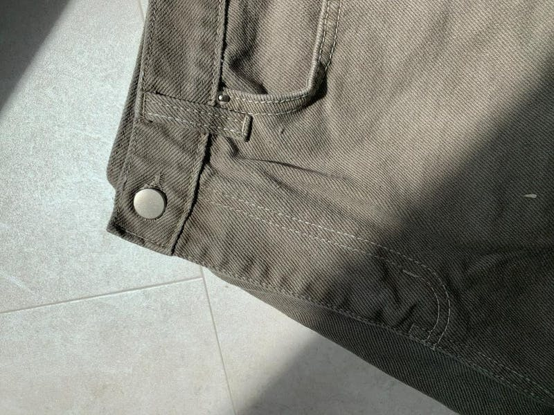 gray jeans short pantsの画像13枚目