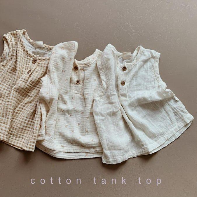 cotton tank top-0