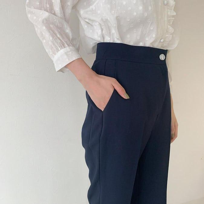 peach pants( pink / navy )