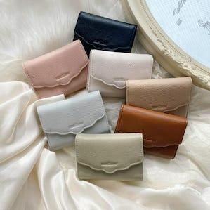 mellow's フリルミニ財布