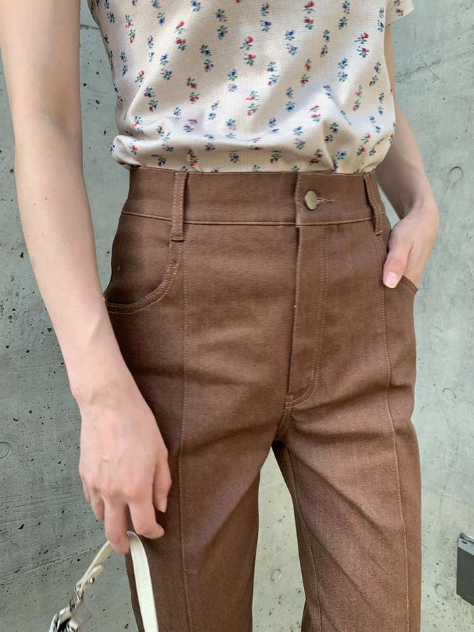 "original item ""stretch choco jeans""-0"