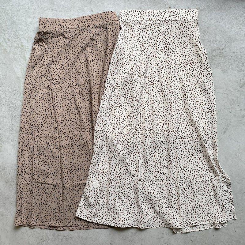 レオパードスリットスカートの画像1枚目