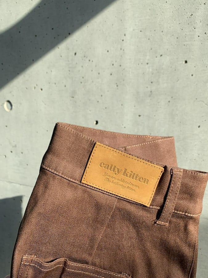 "original item ""stretch choco jeans"""