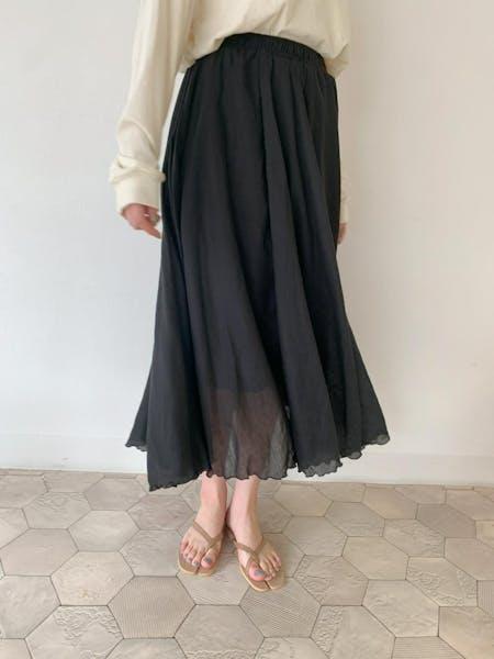 ふわふわロングスカートの画像16枚目