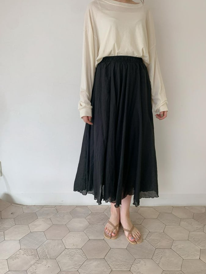 fuwa long skirt