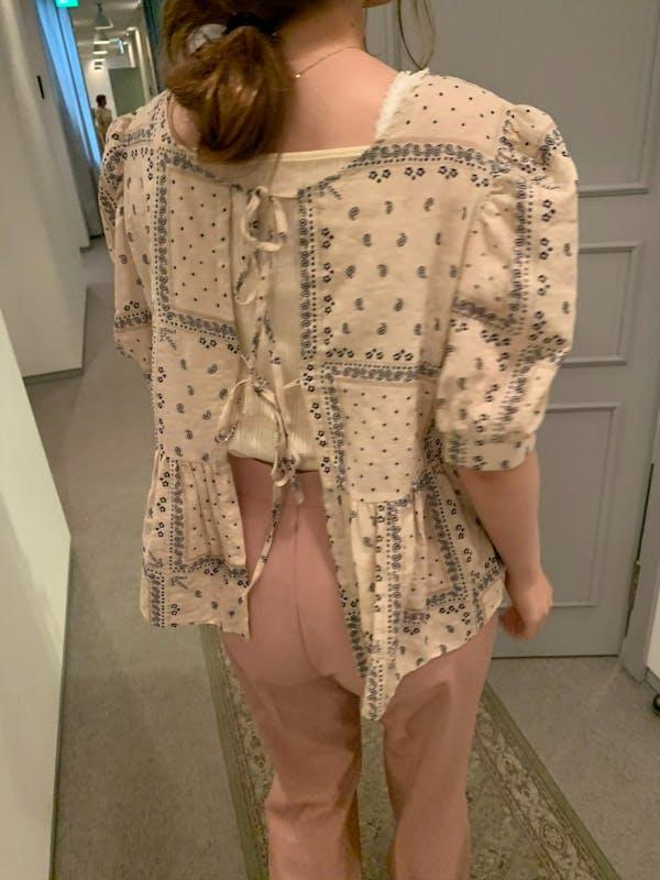paisley blouseの画像1枚目