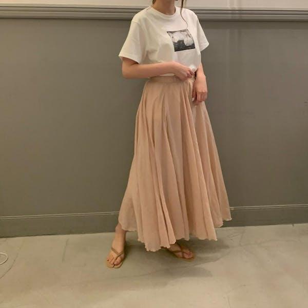 ふわふわロングスカートの画像2枚目