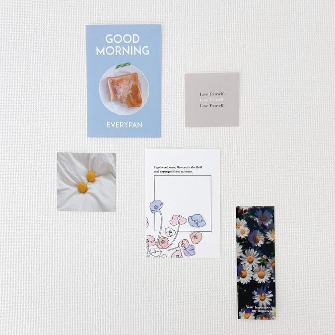 am8:00の아침(アチム)カード-0