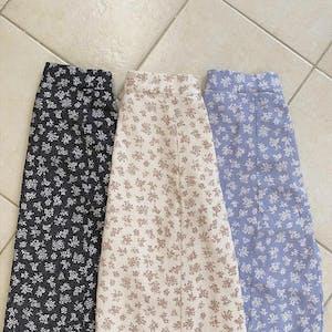 mellow's ブーケロングスカート