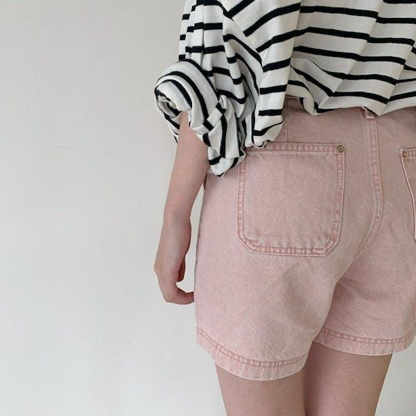 pink short pantsの画像7枚目