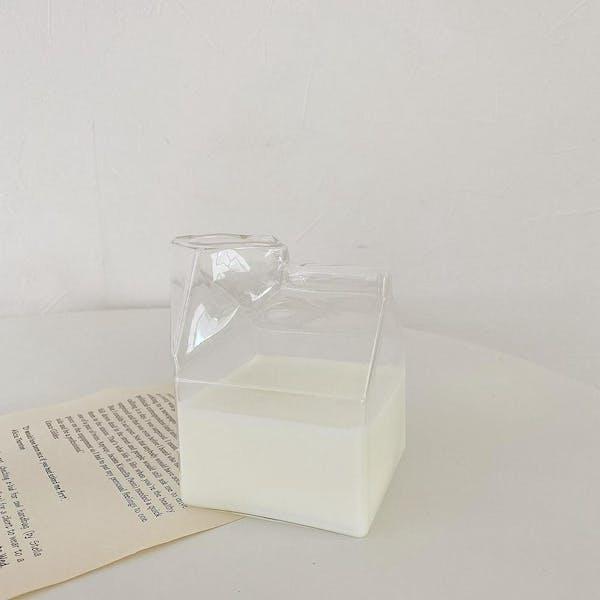 ミルクパックグラスの画像1枚目