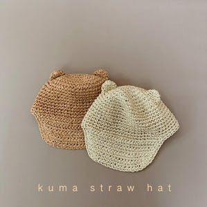 kuma  straw hat