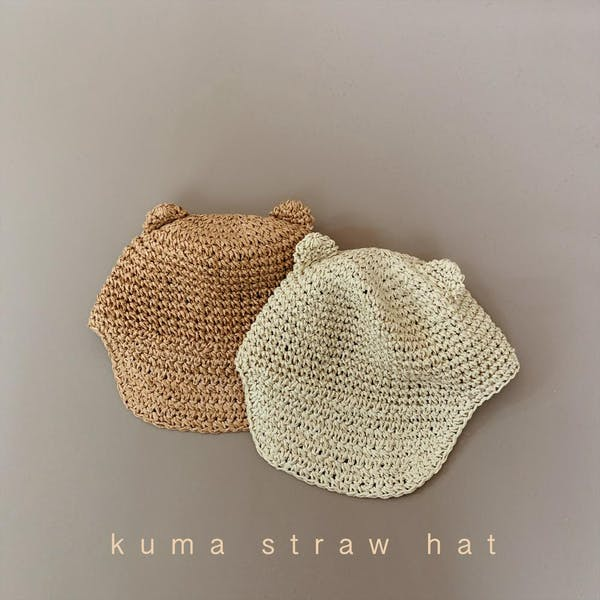 kuma  straw hatの画像1枚目