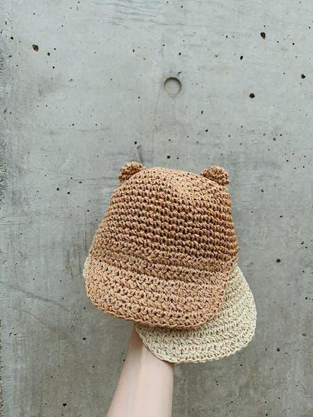 kuma  straw hatの画像10枚目