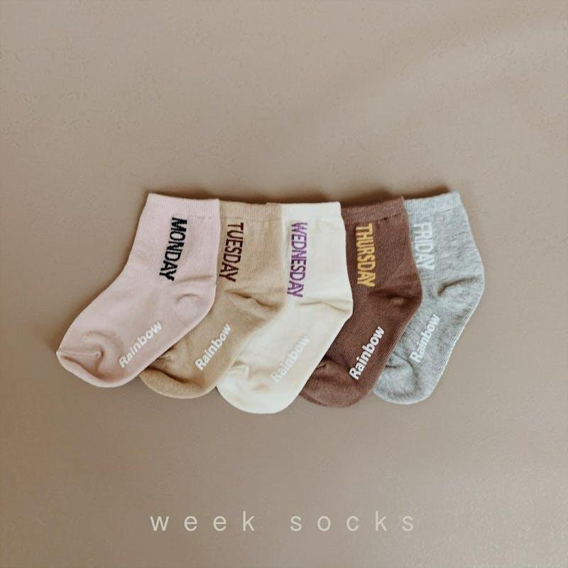 week socksの画像1枚目